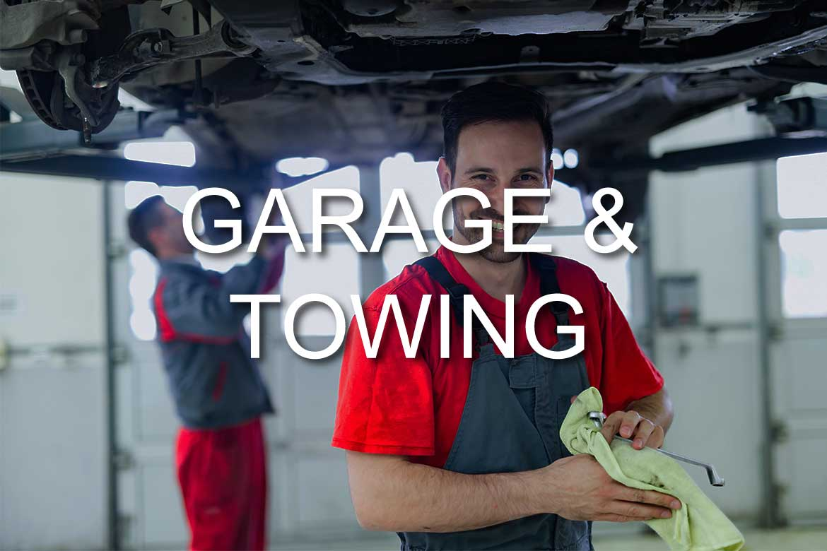 Commerical Garage & Towing Insurance